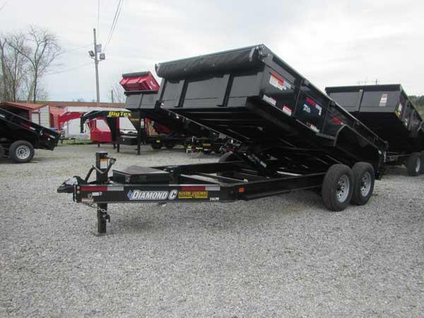 Diamond C 24LPD 82 x 14 Dump Trailer