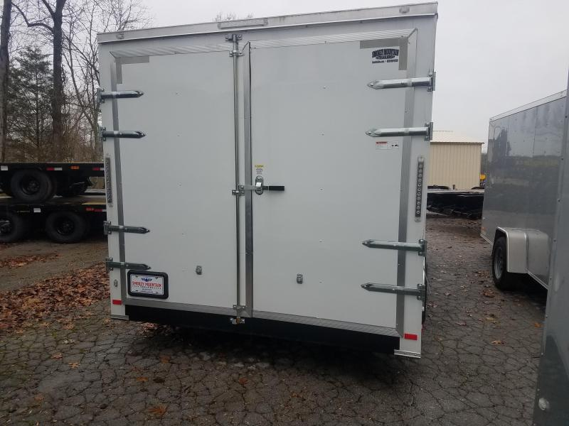2019 COVERED WAGON 7X16  7K DBL DOOR