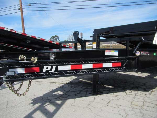 PJ 20+4 14K Tilt Equipment Trailer