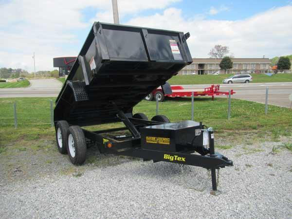 Big Tex 5 x 10 Dump Trailer