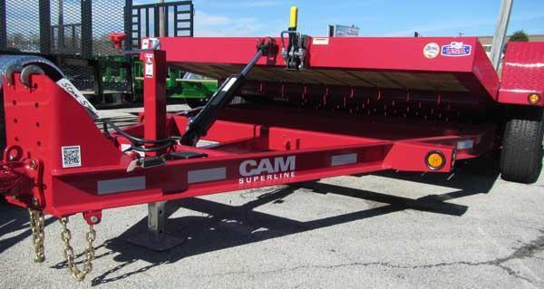 CAM 82 x 14 10K Tilt Equipment Trailer