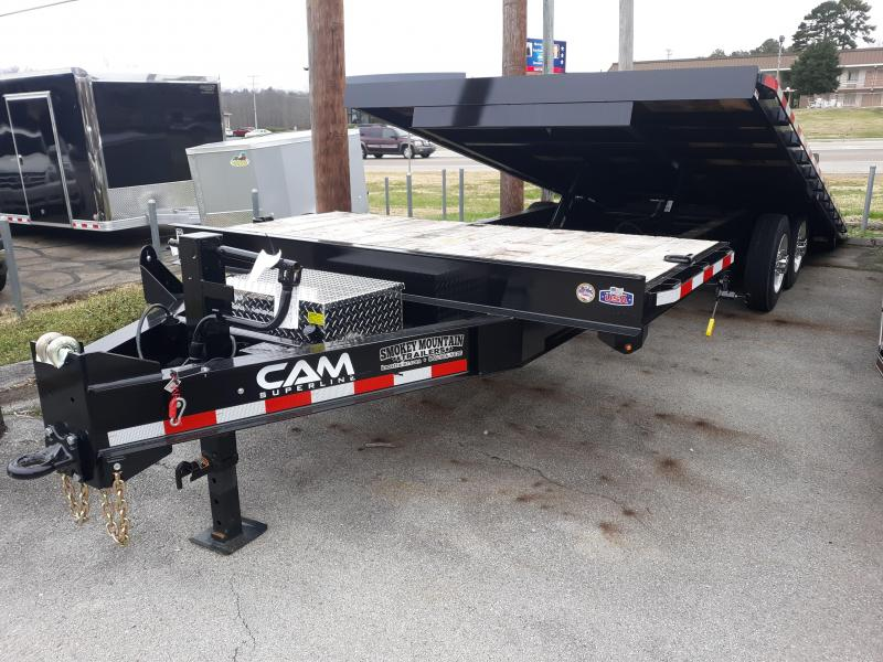 2019 Cam Superline 8CAMDOSTT824 Equipment Trailer in Ashburn, VA