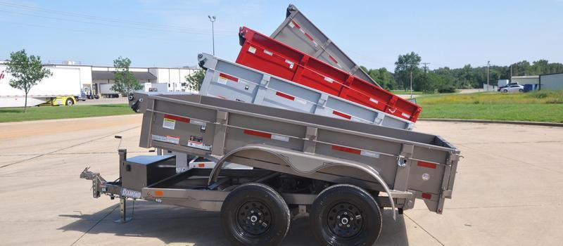 Diamond C 46ED 5 x 10 Dump Trailer in Ashburn, VA