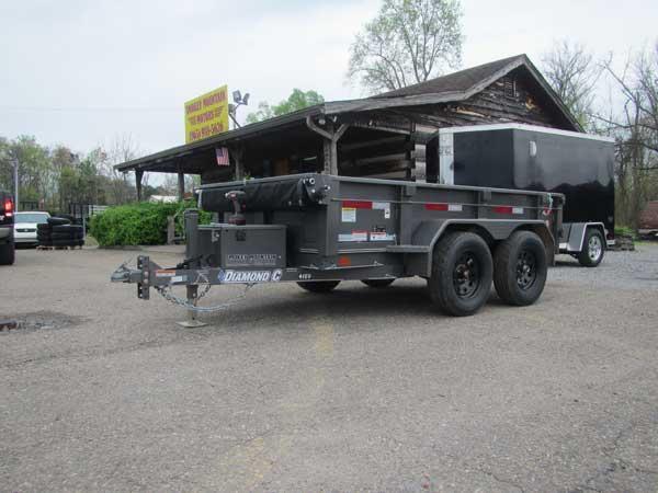 Diamond C 46ED 5 x 10 Dump Trailer