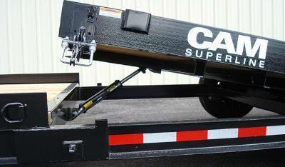 CAM 7x19 Split Tilt Bed Trailer 16K