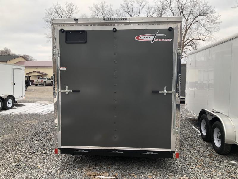Cross 7x12 Enclosed Cargo Trailer w/ Ramp Door