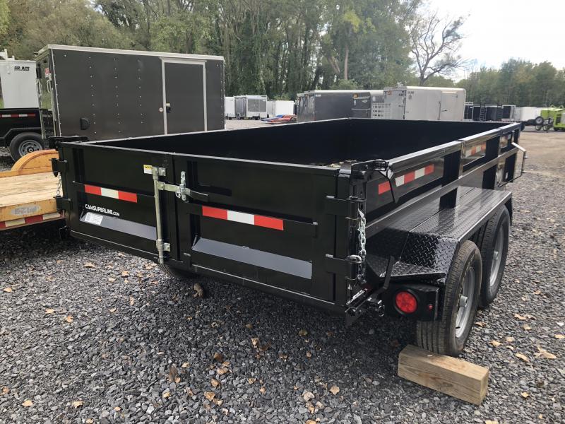 7x12 CAM Heavy Duty Low Profile Dump Trailers 12K