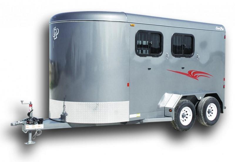 2019 CornPro Trailers HB-14 7S Deluxe Horse Trailer