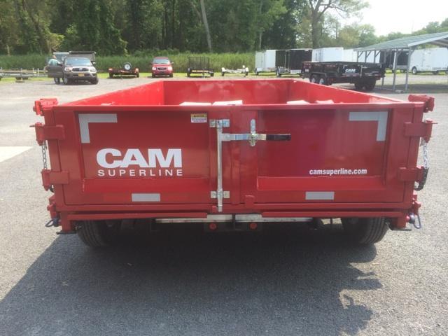 CAM Low Profile 6x10 Dump Trailer 8K
