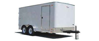 Pace American 7x16 Outback Enclosed Cargo Trailer w/ Barn door