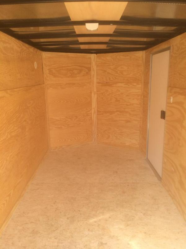 Pace American 6x12 Journey V Nose Cargo Trailer with Ramp Door