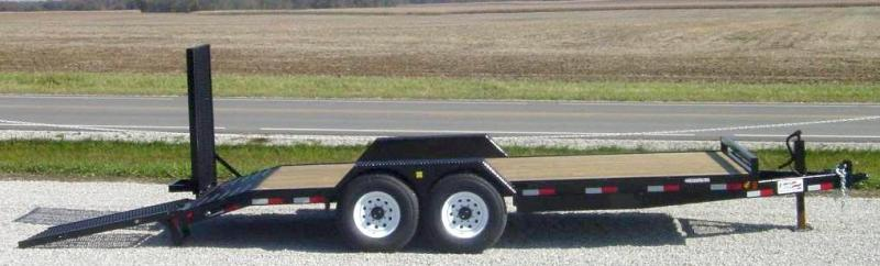 "Liberty LE10K18C5 83"" X 18' 10K Equipment Trailer"