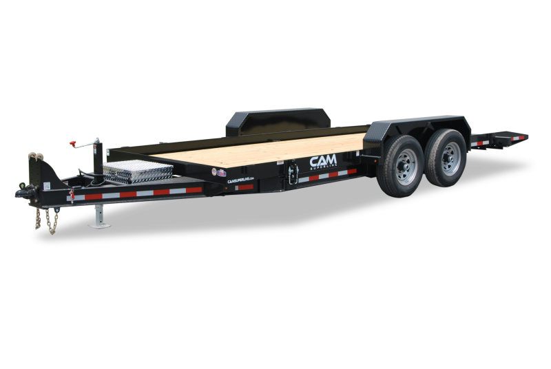 CAM Superline 7x18 Full Deck Tilt Trailer