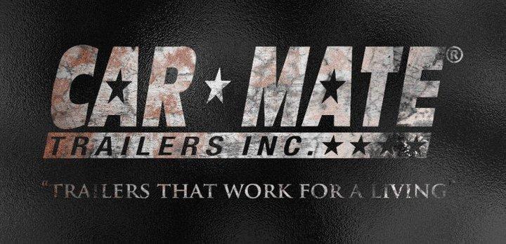 Car Mate 5x14 Steel Sided Trailer 3K