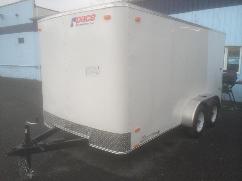 Pace American 7x16 Outback Enclosed Cargo Trailer w/ Ramp Door