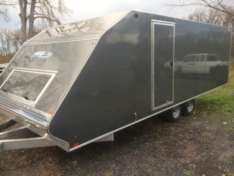 Nitro101x20 4 Place Snowmobile / ATV Trailer