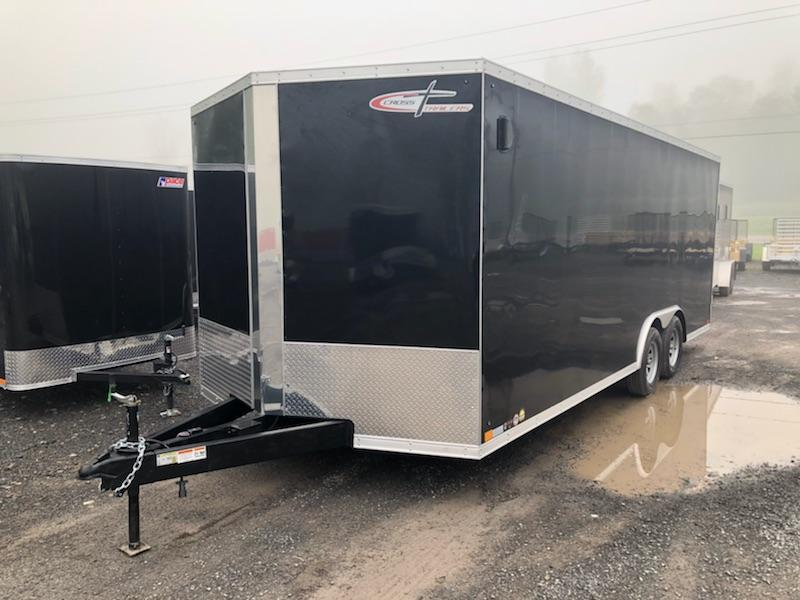 Cross Trailers 8.5x20 7K Enclosed Car Hauler Trailer w/ Ramp Door