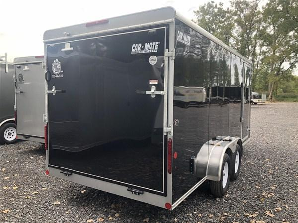 Car Mate 7x16 Advantage Cargo Trailer w/ Ramp Door