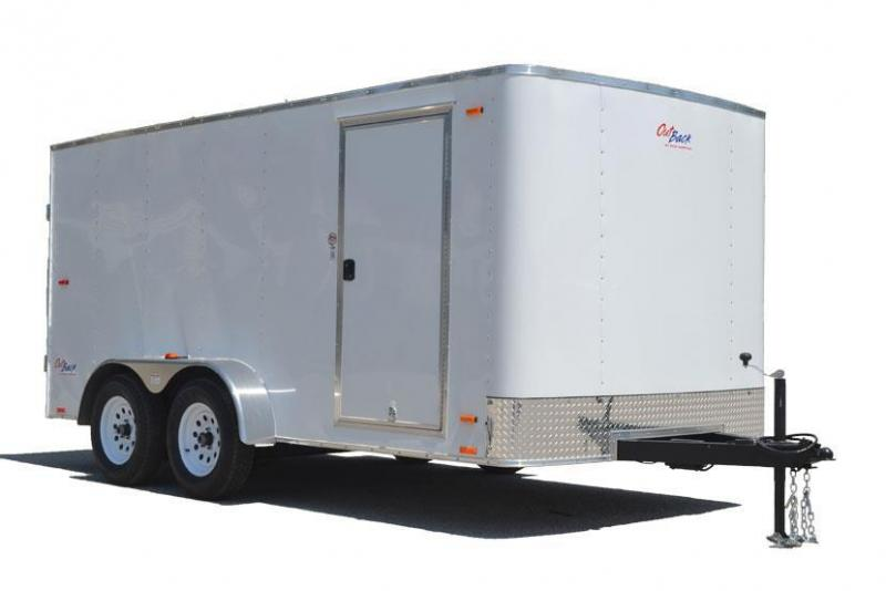 Pace American 7x14 Outback w/ Ramp Door