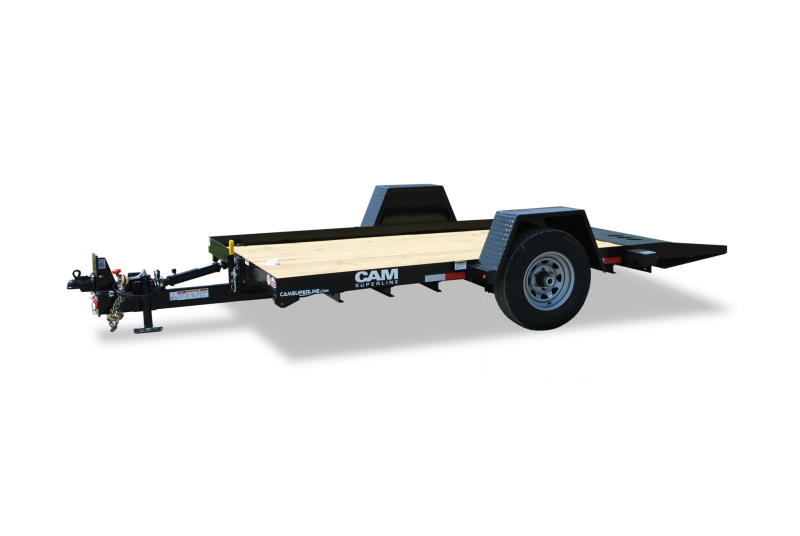 CAM Superline 6x12 Single Axle Full Tilt Trailer