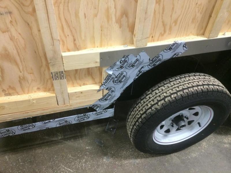 Car Mate 7x14 Custom Cargo Trailer w/ Barn Doors
