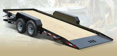 CAM 7x18 Full Deck Tilt Trailer 12K