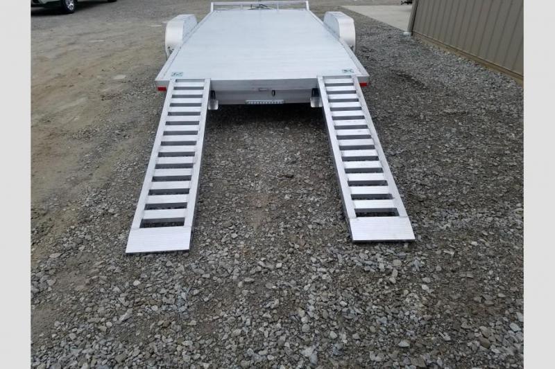 Sport Haven 7x18 Tandem Axle Utility Trailer w/ Aluminum Deck