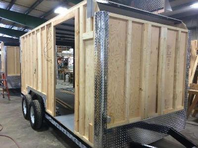 Car Mate 8x18 Custom Cargo Contractor Series w Barn Door