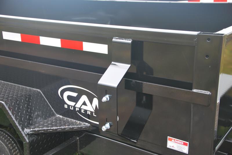 CAM 6x12 Low Profile Dump Trailer 12K