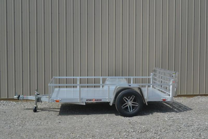 Sport Haven 5x8 Utility Trailer w/ Aluminum Deck
