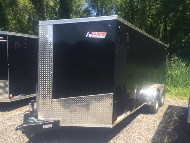 Pace 7x16 Journey SE V-Nose Cargo Trailer w/ Ramp door