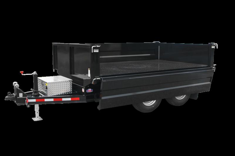 6x10 CAM 8K Deck Over Dump Trailers