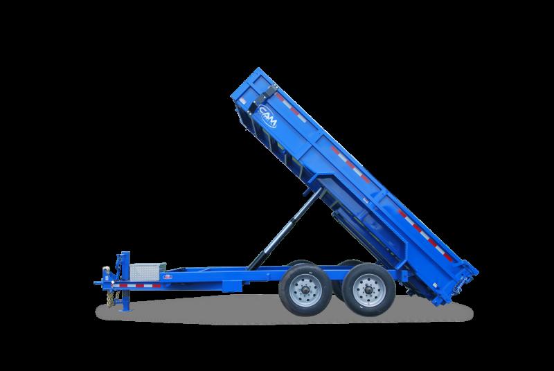 7x16 CAM Superline Heavy Duty Dump Trailer