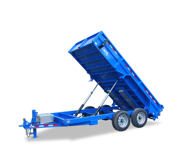 7x16 CAM Superline Heavy Duty Dump Trailer