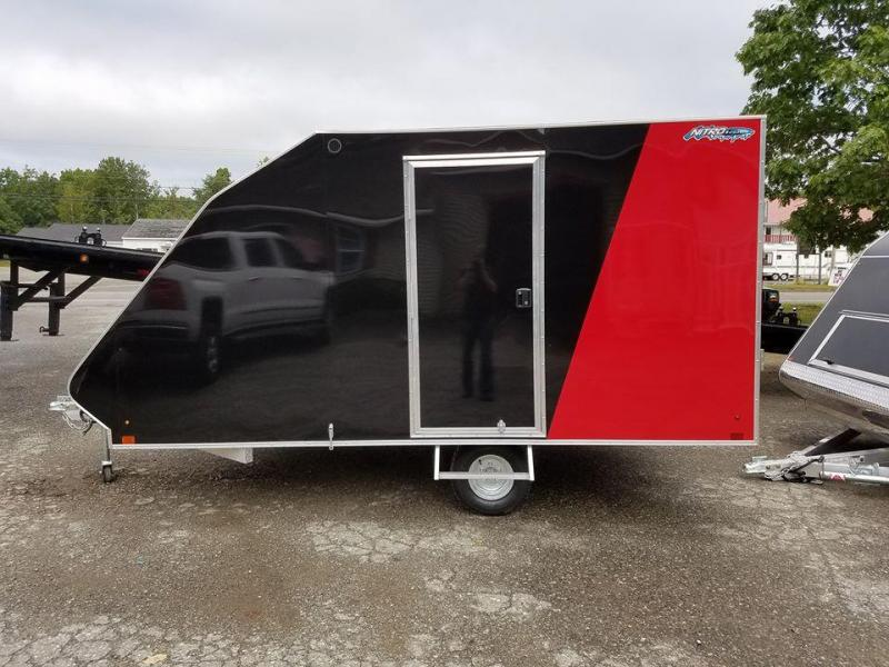 Nitro 2 Place Hybrid Snowmobile Trailer