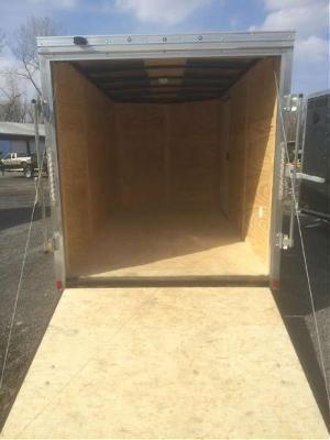 Pace American 7x14 Journey SE V-Nose Cargo Trailer w/ Ramp door