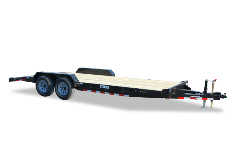 CAM Superline 7x18 Wood Deck 12K Car Hauler