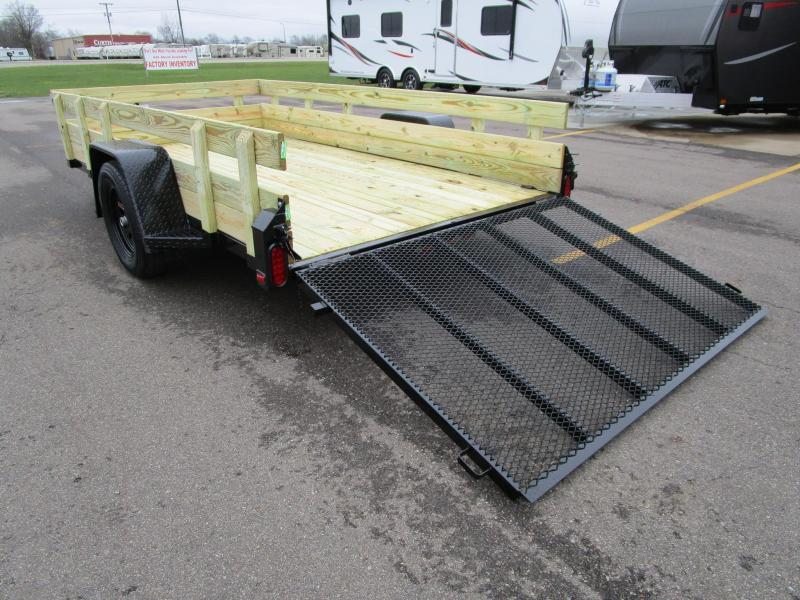 2019 Nation Tank and Trailer 6x10 Utility Trailer