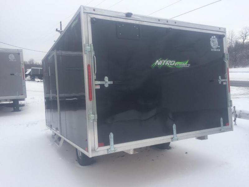 Nitro EcoV 101x12 Hyrbrid/Crossover SnowmobileTrailer