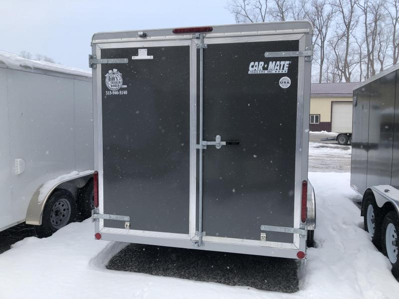 Car Mate 7x16 Advantage V-Nose Cargo Trailer w/ Barn Door