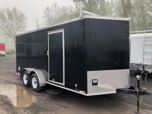 United Trailers XLV712TA Enclosed Cargo Trailer w/ Ramp Door