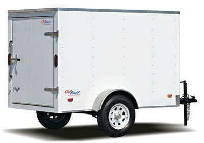 Pace American 5x8 Outback Cargo Trailer w/ Barn Door
