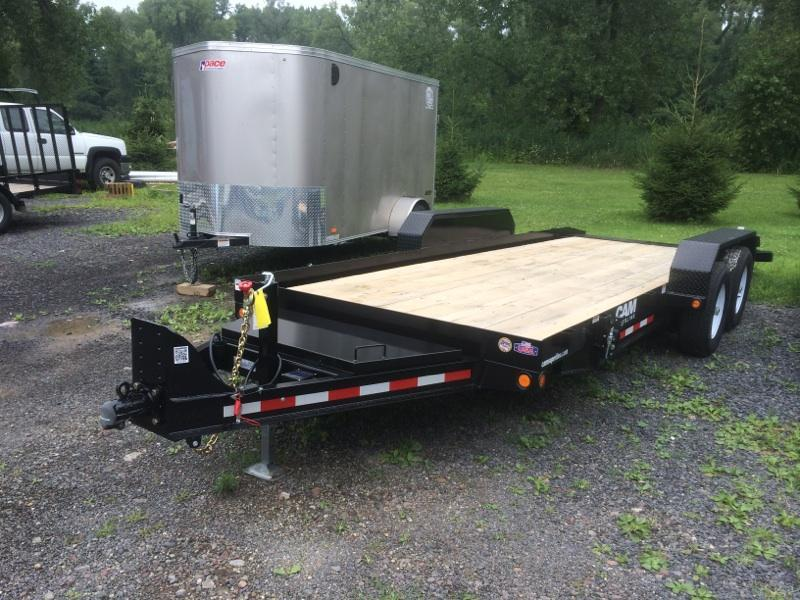 CAM 18 ft. Full Deck Tilt Trailer 16K