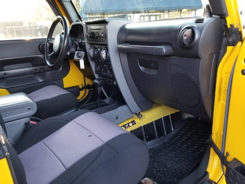 2008 Jeep WRANGLER 2DR X 4WD