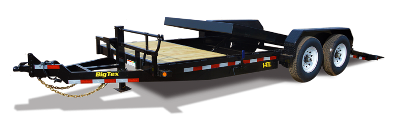 2017 Big Tex 14TL - 22' HD 3/4 Tilt Trailer