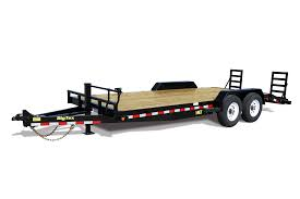 2019 Big Tex 14ET - 20' Equipment Trailer with Knee Ramps