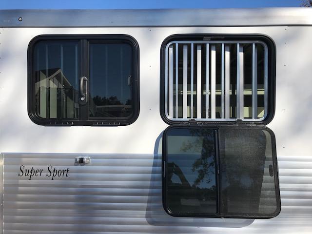 2018 Sundowner Trailers 2 Horse Bumper Pull Slant Load Horse Trailer