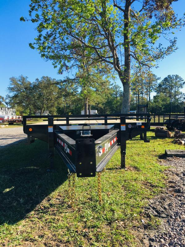 2020 PJ Trailers PD252 Flatbed Trailer