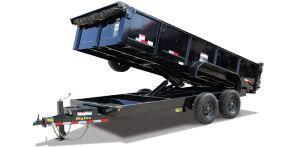 2018 Big Tex Trailers 16LX-14 with 17500 GVWR