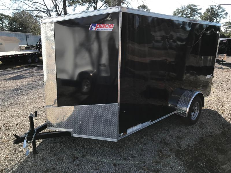 2018 Pace American Journey 6 X 12  Single Axle Special Edition with .030 SKIN & BARN DOORS
